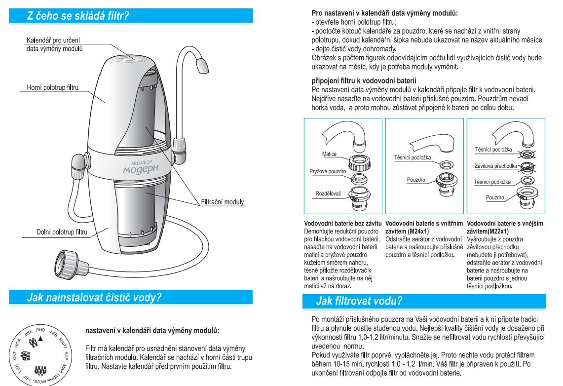 Návod-vodní-filtr-na-kohoutek-aquphor-modern