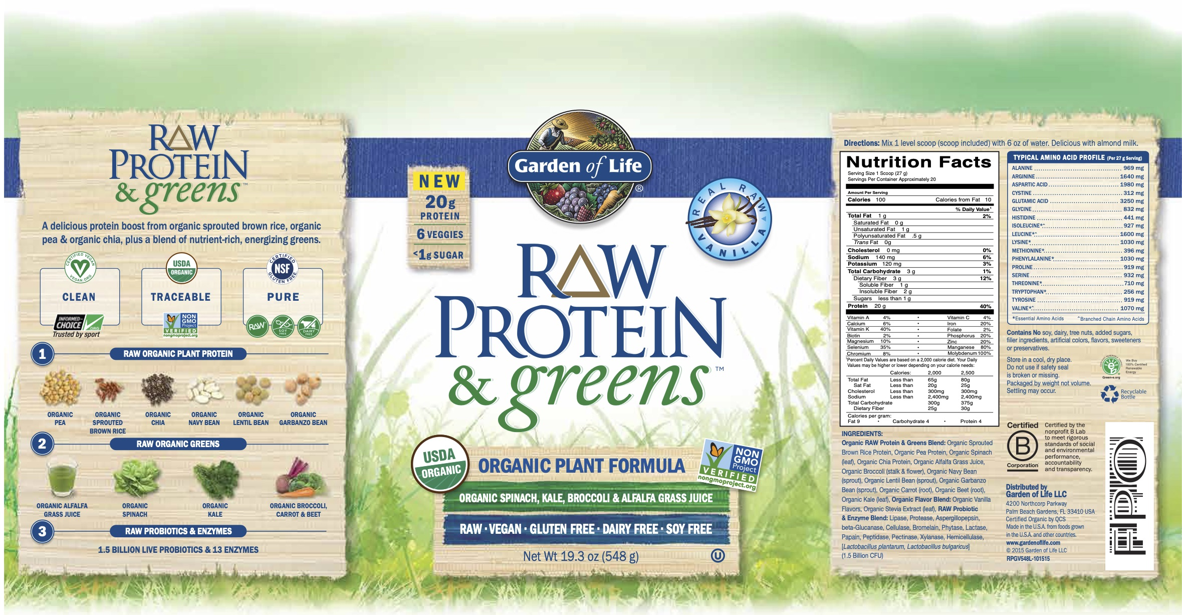 protein greens