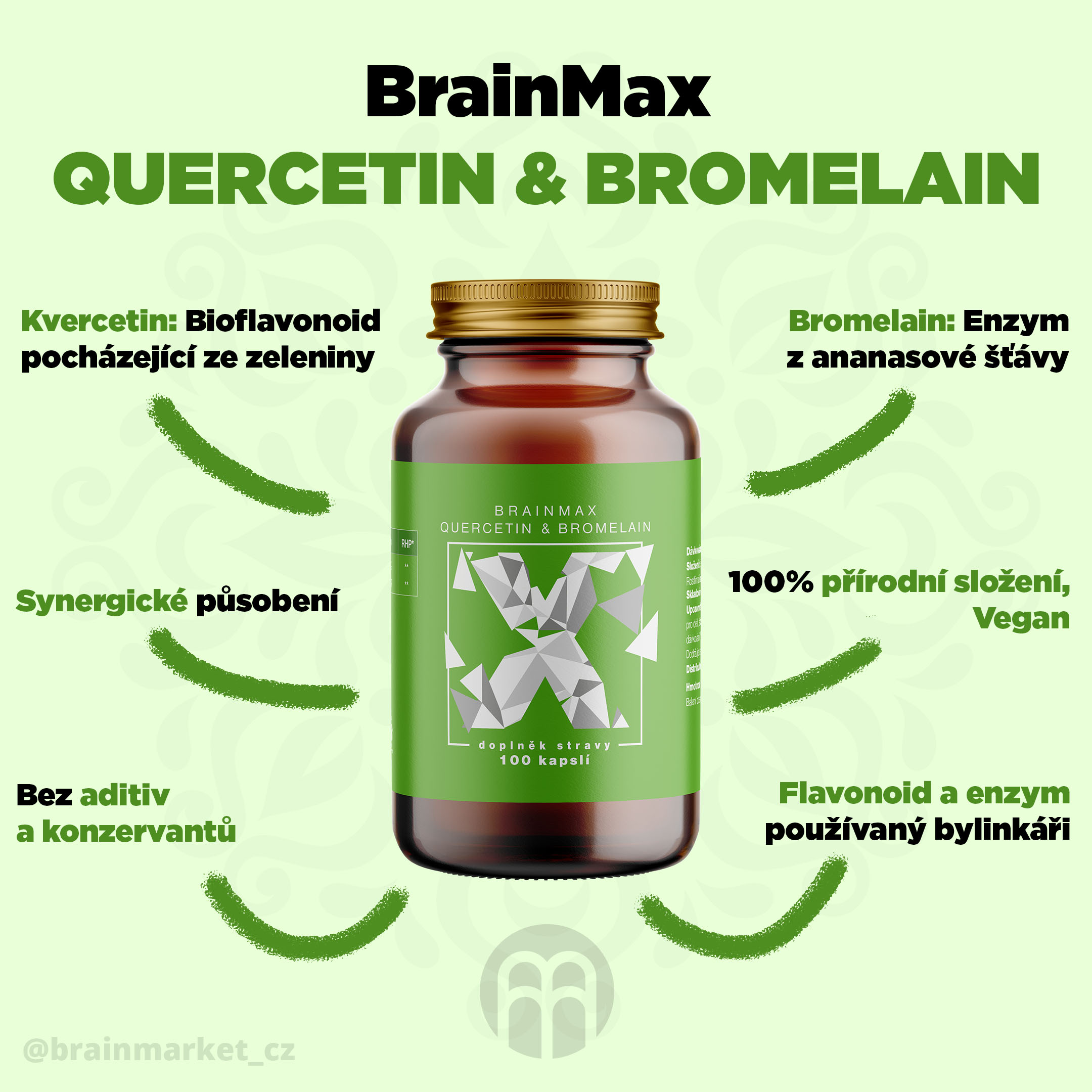 BrainMax Quercetin & Bromelain